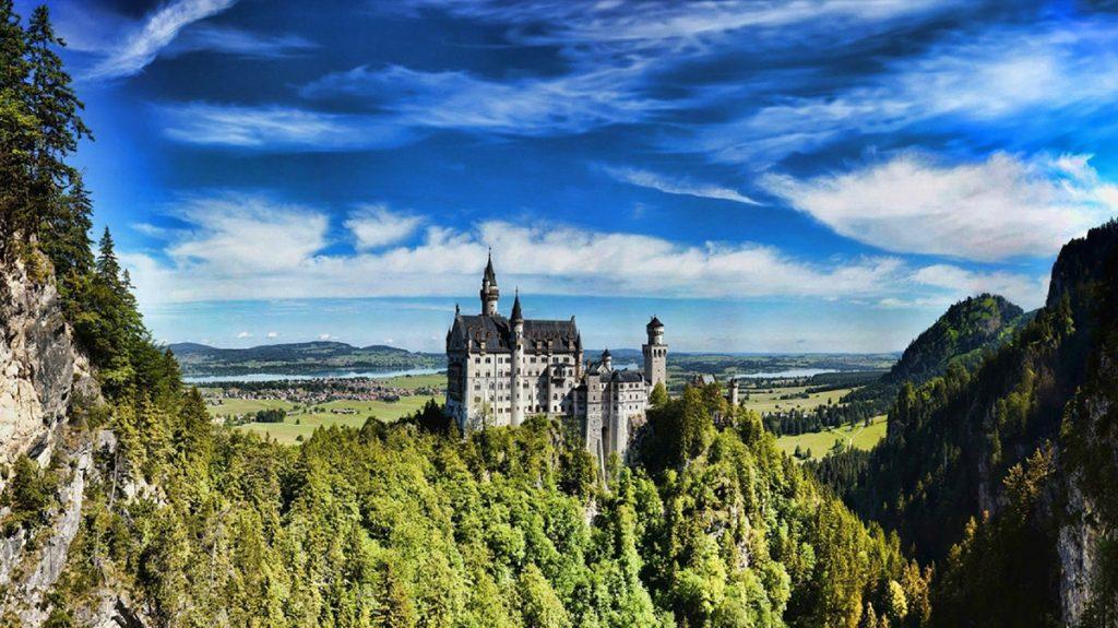 Castle Neuschwanstein near Füssen a beautiful day trip from Munich