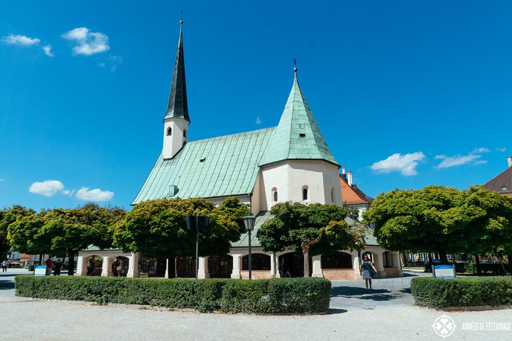 Chapel of Grace in Altöttingen rear view