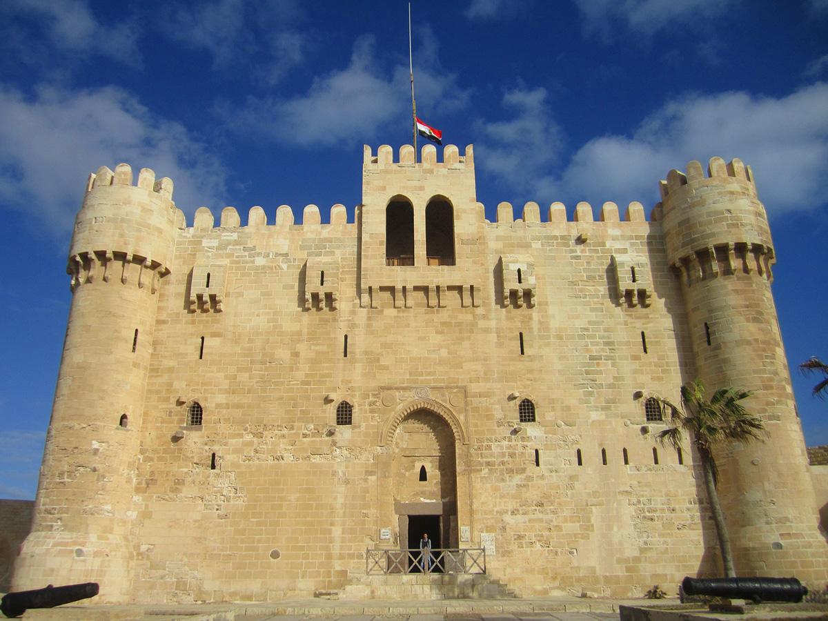 Citadel of Qaitbay, Alexandria, Egypt - one of the many wonderful day trips from Cairo