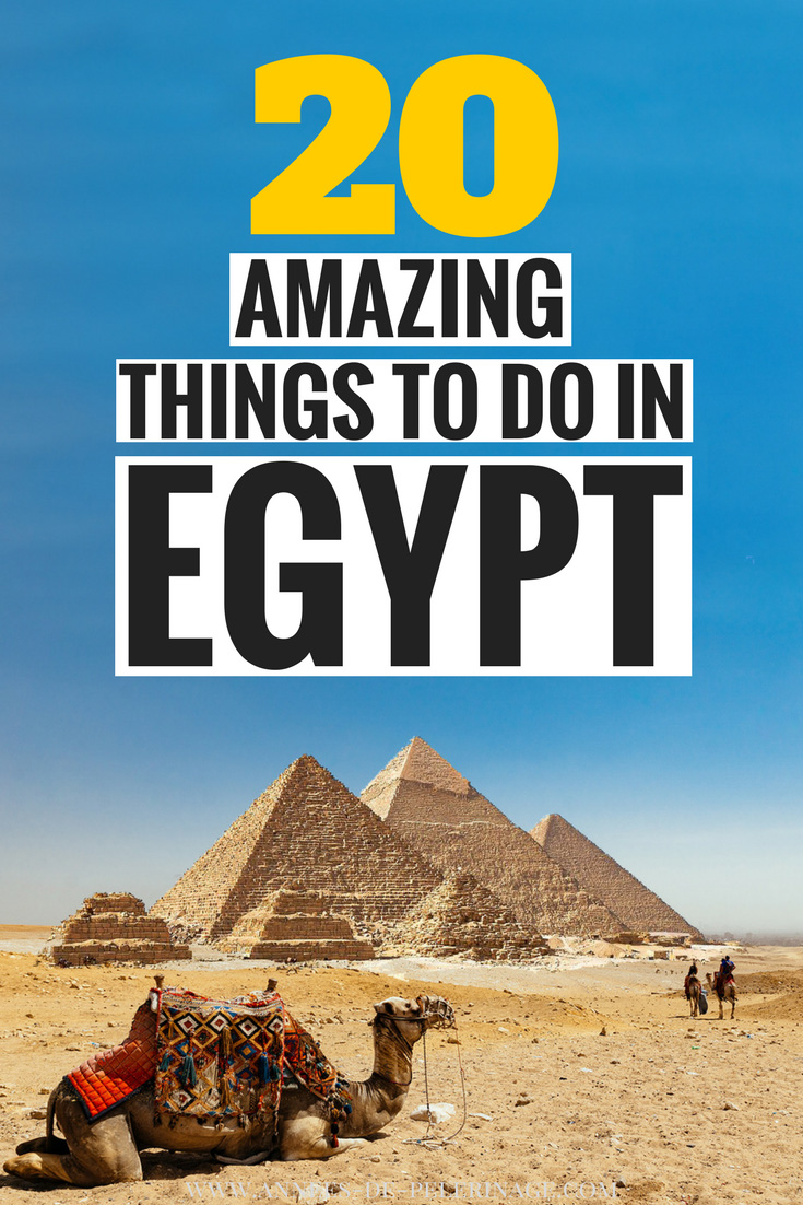 the 20 best places to visit in Egypt. This is a massive list of the best things to do in Egypt with all the top landmarks and points of interest. From ancient Pharaonic times to the things to do in modern Egypt, this Egypt travel guide covers it all. When is the best time to visit Egypt and is it really safe to visit Egypt? Click to find out more and see more beautiful Egypt photography. #Egypt #travel #travelguide