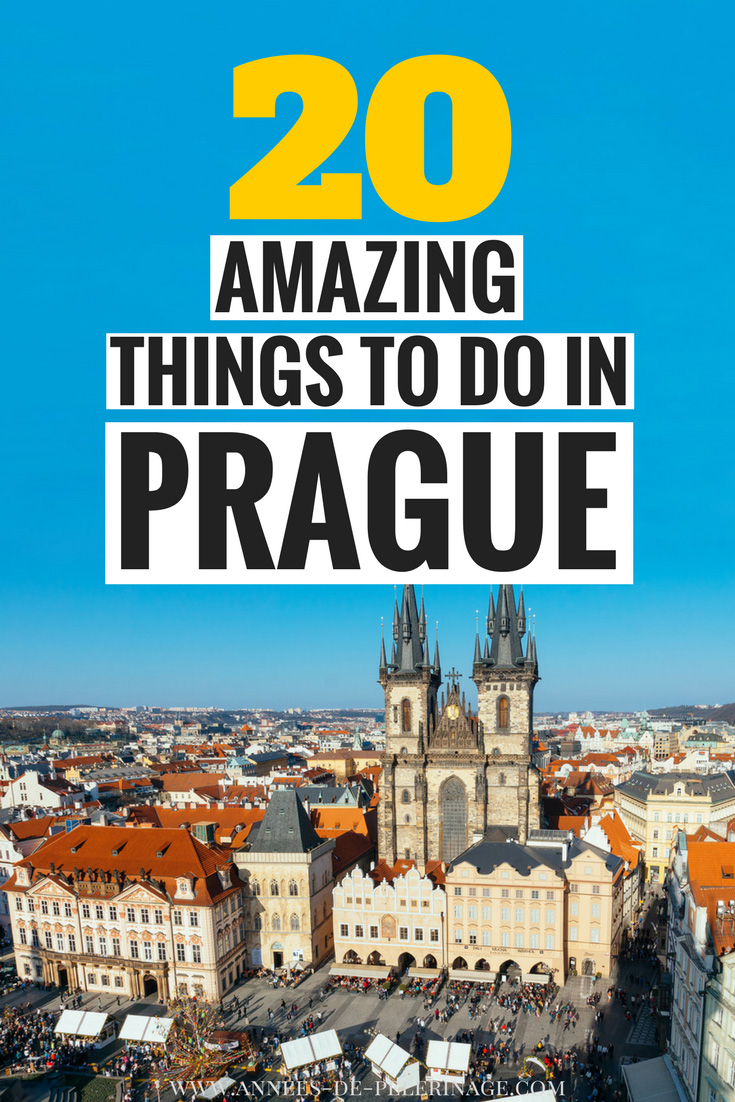 20 amazing things to do in Prague. Wondering what to do in Prague? Here is a comprehensive travel guide to the czech capital. Fun things to do in Prague at night - from bars to disco to museums, this guide covers it all. Where to stay in Prague and when to visit. Plan your detailed Prague itinerary. Click for more. #travel #prague #czech