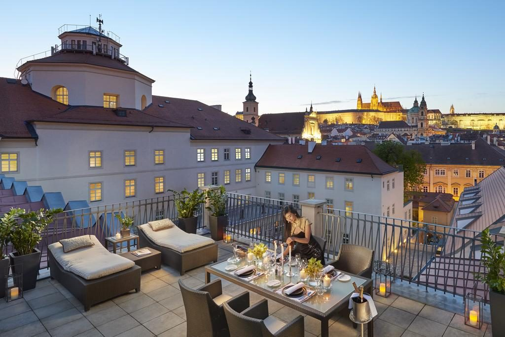 If you are wondering where to stay in Prague, the Mandarin Oriental is certainly your best choice