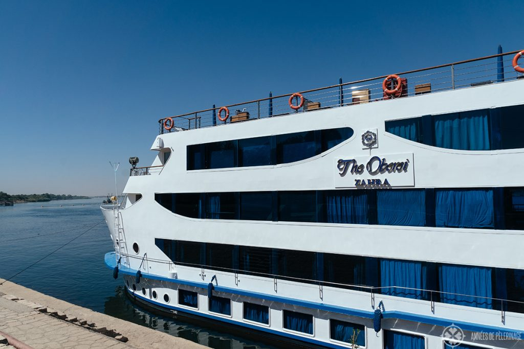 The oberoi zahra - the best luxury nile ship in Egypt