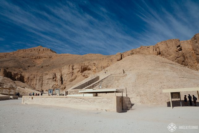 The tomb of Tutankhamun in the valley of the Kings near Luxor, Egypt