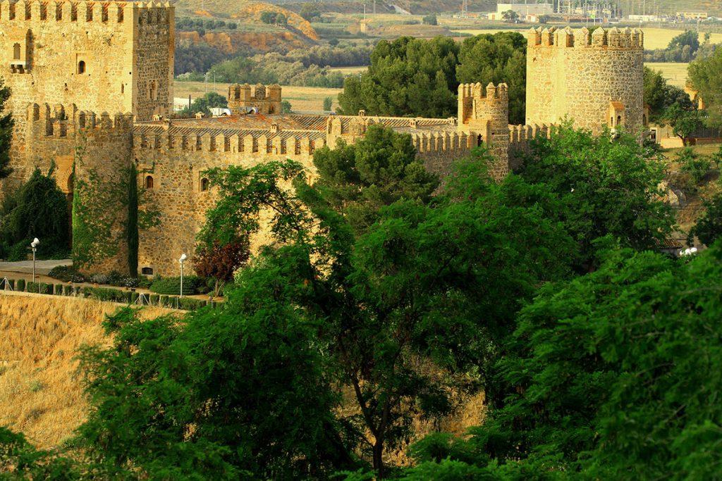 Castle of San Servando in Toledo, Spain