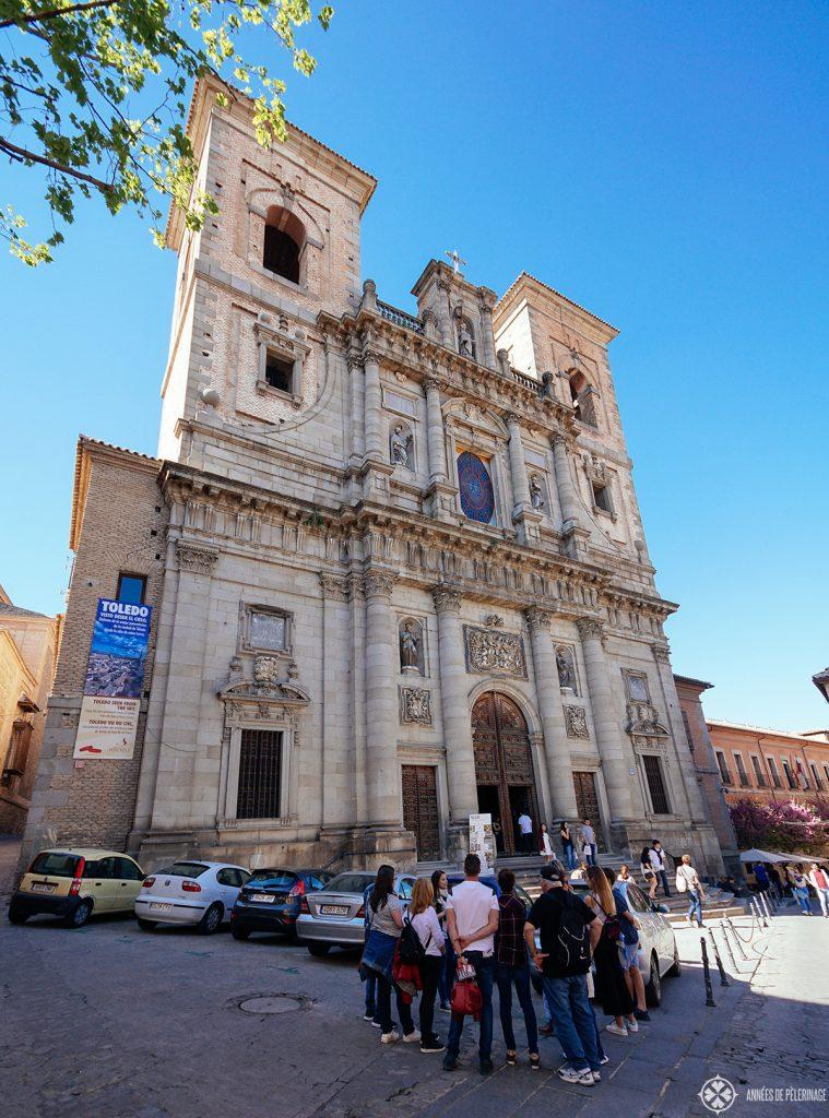 The grand portal of the Iglesia de San Illdefonso, Toledo, Spain