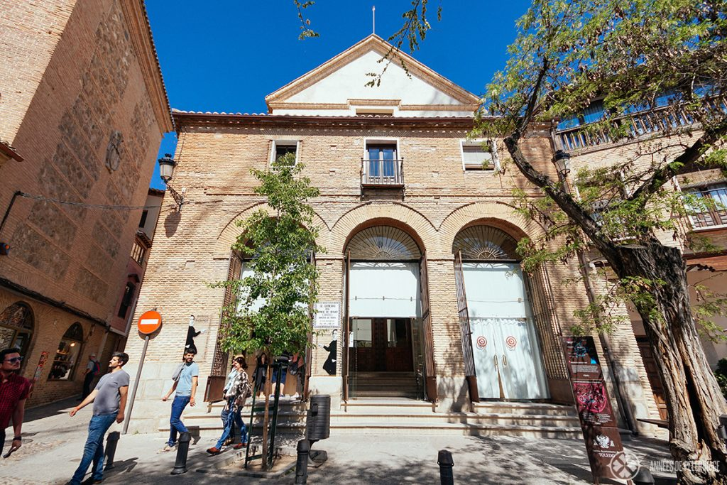 Entrance of the Iglesia de Santo Tomé, Toledo, Spain, where a famous painting by El Grecco can be found