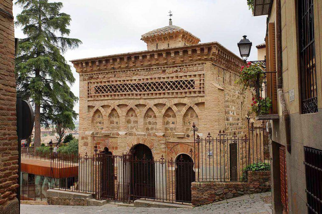 The Mosque of Cristo de la Luz in Toledo, Spain - one of the many buildings from the moorish period