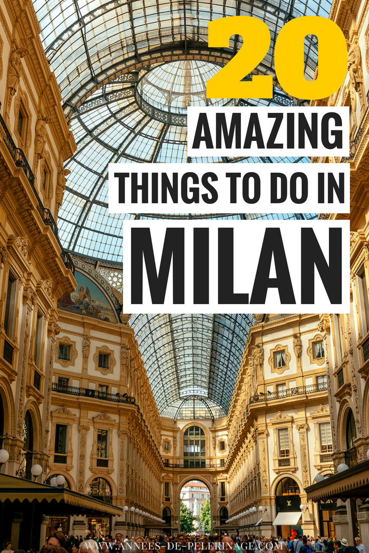 The 20 best things to do in Milan, Italy. Where to stay, when to visit and what to see in Milan - this comprehensive travel guide will answer all your questions. Plan your perfect Italy itinerary. #Milan #Italy #Europe #travel #travelguide