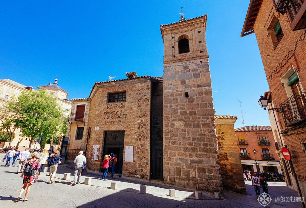 A small church from the moorish perdiod - if you are looking for other things to do in Toledo, Spain, then definitely explore the side alleys of the old town as well