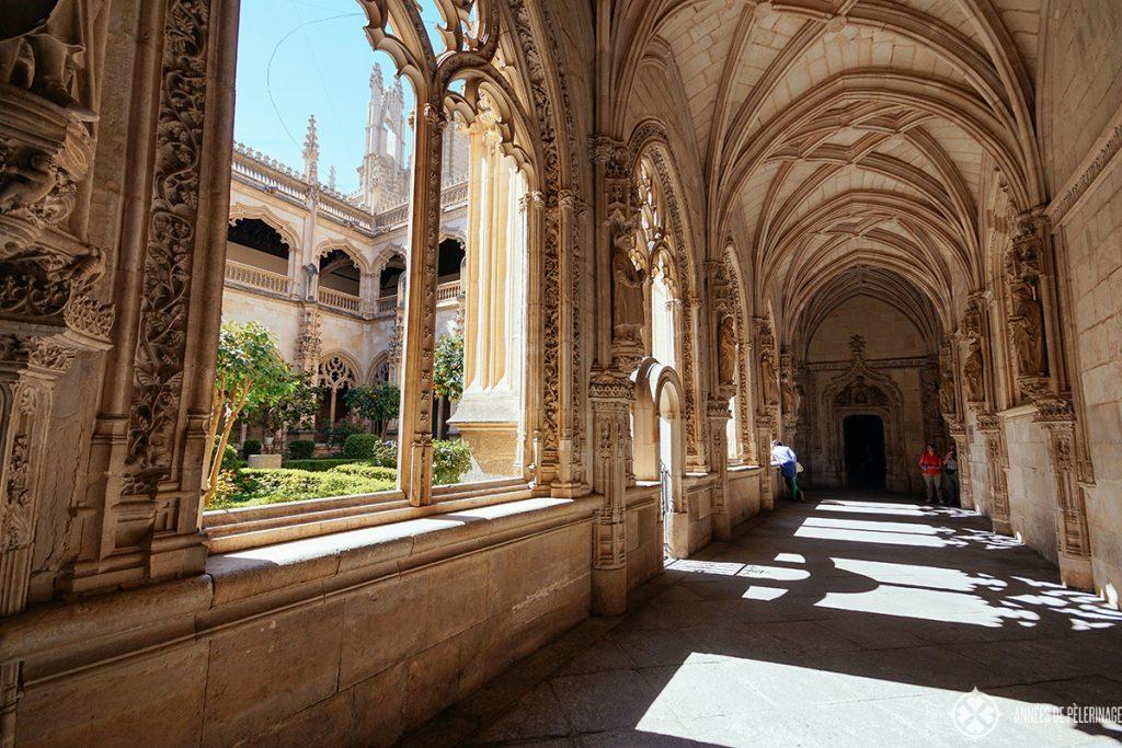 cloister Monastery of San Juan de losReyes - my favorite place to see in Toledo, Spain