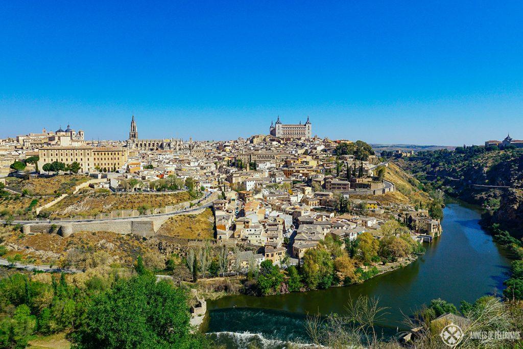 Classic Panorama of Toledo, Spain