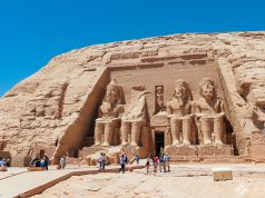 The great temple of Ramses Ii in Abu Simbel, Egypt
