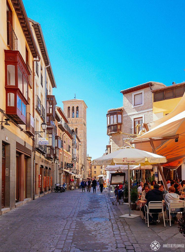 Живописные улочки старого города Толедо, Испания