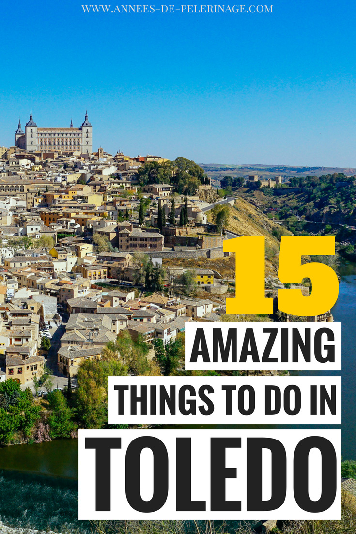 "A massive list of the best things to do in Toledo, Spain. Churches, mosques and synagogues - Toledo is often called the ""City of three Cultures"". Find out when is the best time to visit, where to stay and what are the top tourist attractions in Toledo, Spain. Naturally this comphrensive travel guide also covers how to do daytrip from Madrid to Toledo. Click for more information. #travel #spain #toledo #travelguide #europe #beautiful"