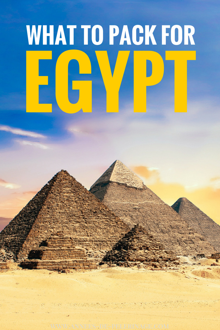 What to wear in Egypt? A detailed Egypt packing list to prepare your perfect trip to the beautiful country on the river nile. Is it okay to wear shirts, what is the general dress code and what to women wear in Egypt. This comprehensive travel answers all your packing related questions for Egypt. #Egypt #travel #africa #travelguide #packinglist