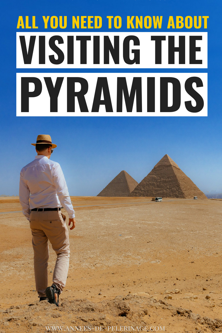 Everything you need to know about visiting the pyramids in Egypt. I'm going to show you how exactly you can have the best Egypt pyramids tour without a guide. How to get to the Pyramids of Giza, hotels near the Pyramids and when is the best time to visit. This guide knows all your answers. Also, includes a tour inside the pyramids of Giza. Click for all the details. #Egypt #Africa #Travel #travelguide #pyramids