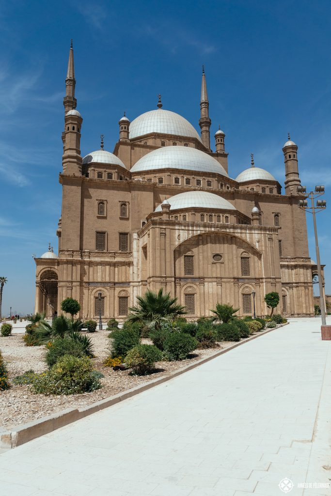 Mosque of Muhammad Ali cairo view citadel egypt
