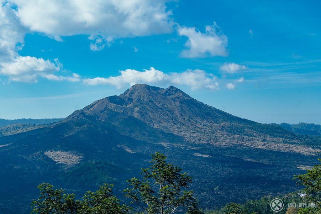 Mount Batur - an active volcano in Bali, Indonesia