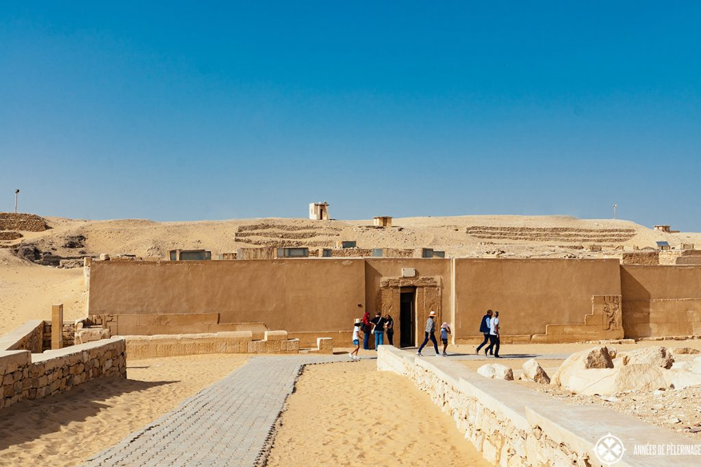 The Mastaba of Mereruka in Saqqara near Cairo, Egypt