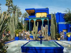 The Jardin Majorelle in Marrakesh - one of the many beautiful places to see in Morocco