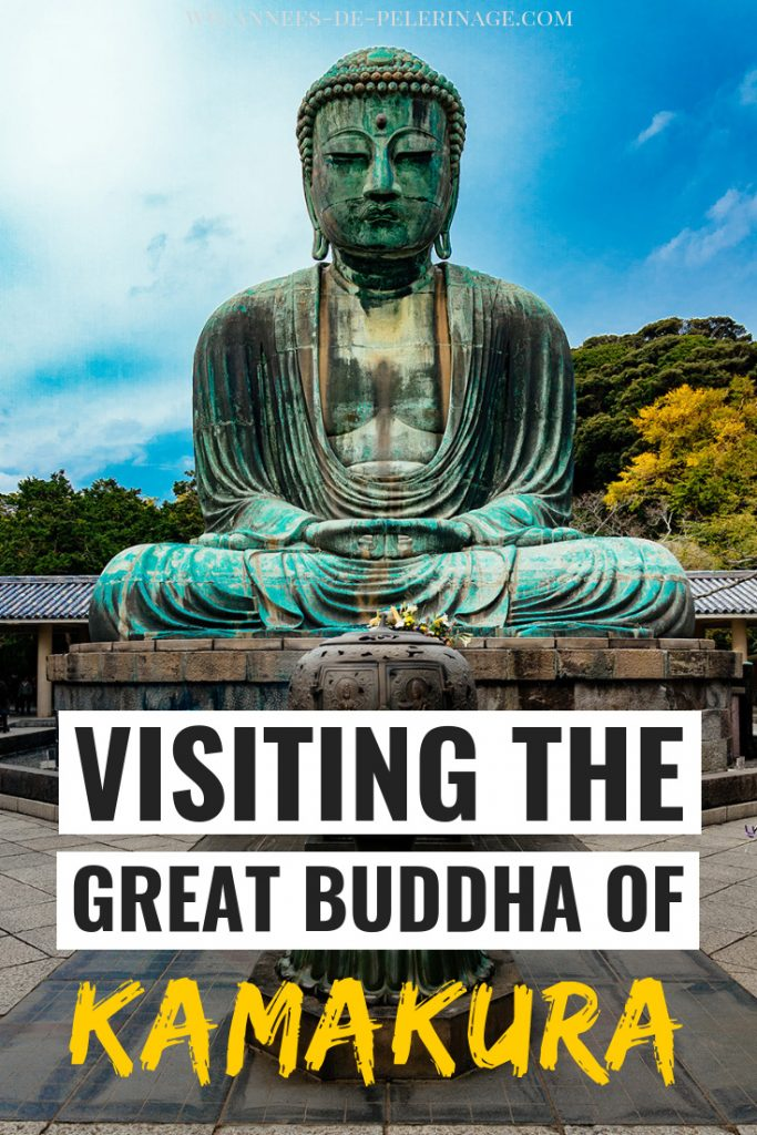 All you need to know about visiting the Great Buddha of Kamakura in Japan. The majestic amida Buddha statue is a truly iconic landmark in Japan and can be visited on a day trip from Tokyo. Find out more after the click. #kamakura #japan #travel #travelguide #wanderlust #photography