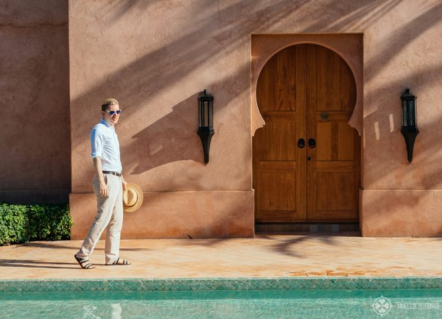 What to wear in Morocco? dress conservative, but for hot climate