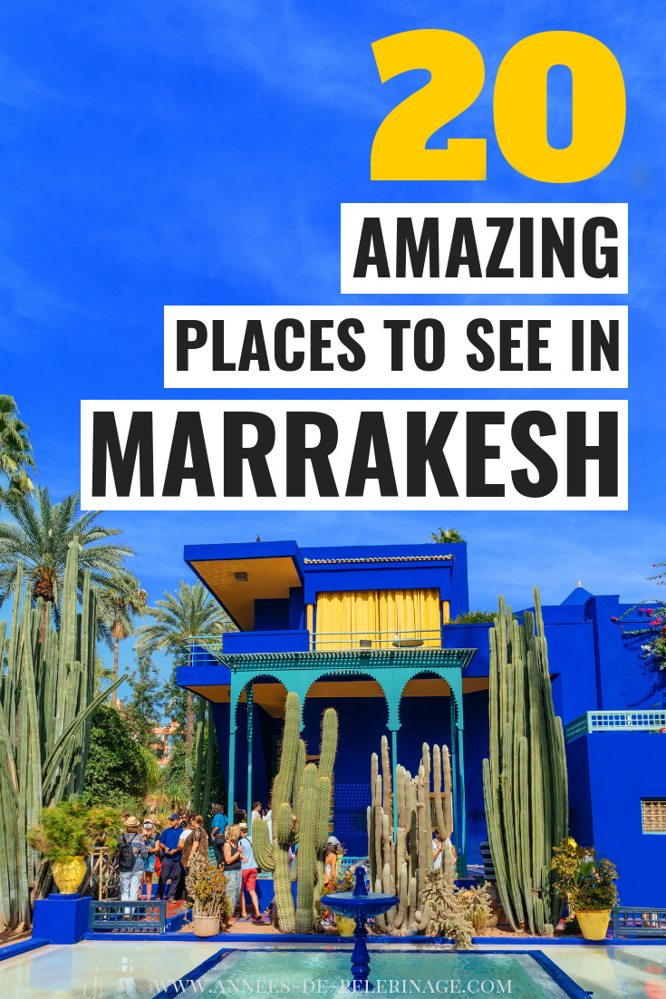 A detailed Marrakesh travel guide with all the top tourist attractions and points of interest. This list of things to do in Marrakesh, Morocco will inspire you to visit. Plan your perfect Marrakesh itinerary, learn when is the best time to visit Marrakesh and where to stay. Click for the details #marrakesh #morocco #africa #travel #travelguide #wanderlust