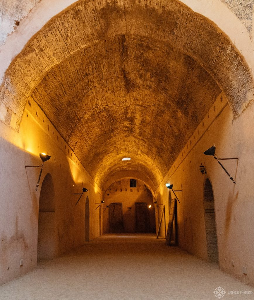 The Heri Es-souani royal granaries in Meknes, Morocco