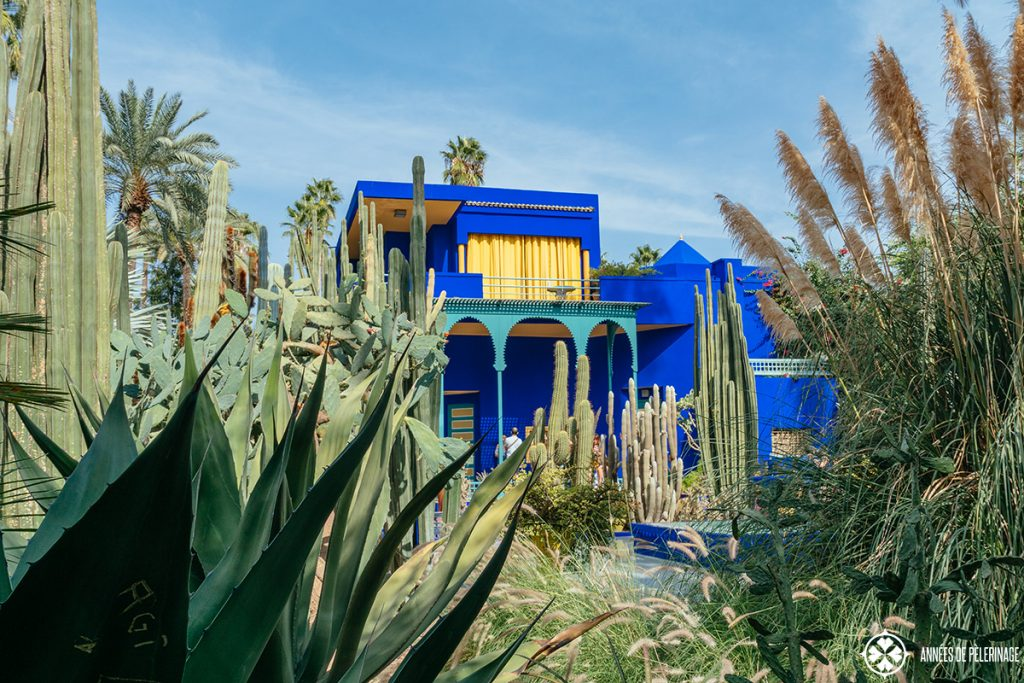 majorelle garden marrakesh morocco