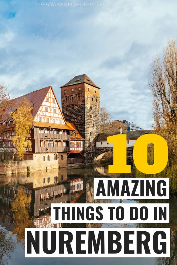 The 10 best things to do in Nuremberg, Germany. The secret capital of Frankonia has so many tourist highlights and points of interest, you will regret leaving it out in your Germany itinerary. Nuremberg is a quick day trip from Munich and home a medieval old town you do not want to miss. click for more. #germany #europe #travel #travelguide #traveltips #wanderlust #bucketlist