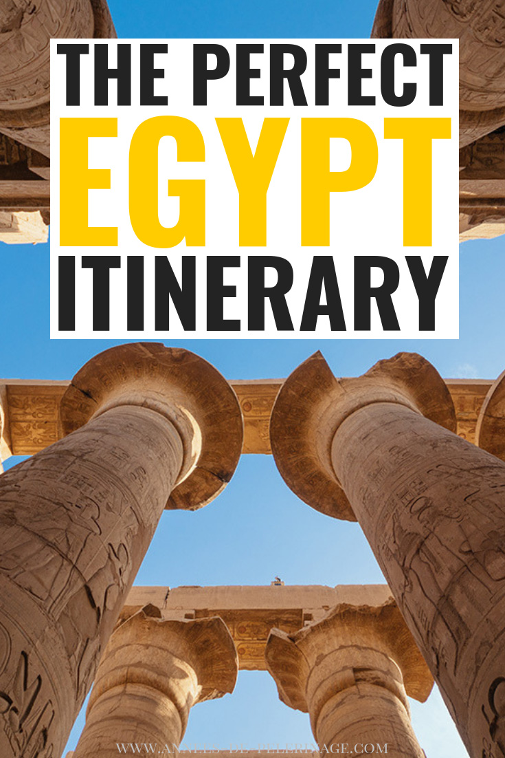 The perfect 14 day Egypt itinerary. A detailed Egypt travel guide to help your plan your vacations in the amazing country along the nile. From Cairo to Aswan and Luxor up until Hurghada - you will learn step by step what you need to see and where you need to go. Click for more. #travel #egypt #africa #travelguide #explore #wanderlust #art #travelblog