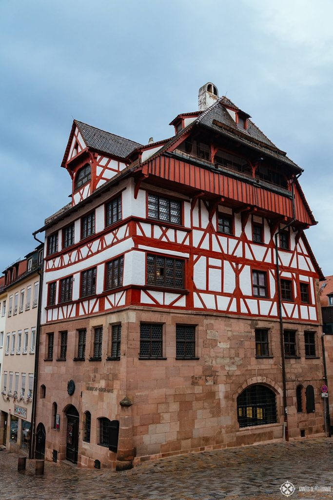 Albrecht Dürer's House in Nuremberg, Germany