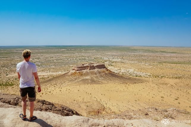Exploring the Desert Castles of Ancient Khorezm in the far west of Uzbekistan