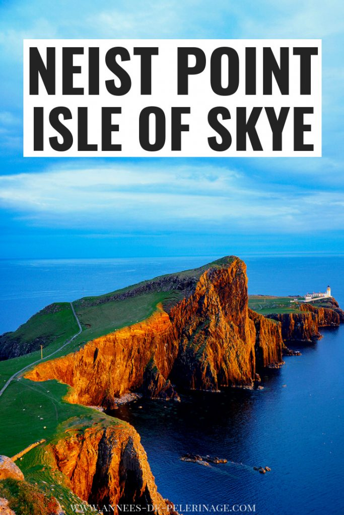 A tourist's guide to the Neist Point Lighthouse on the Isle of Skye. How to get there, what you need to know and where are the best photography spots. Everything you need to know about this fantastic landmark on the Isle of Skye in Scotland. #travel #scotland #wanderlust #explore #traveltips #photography #bucketlist