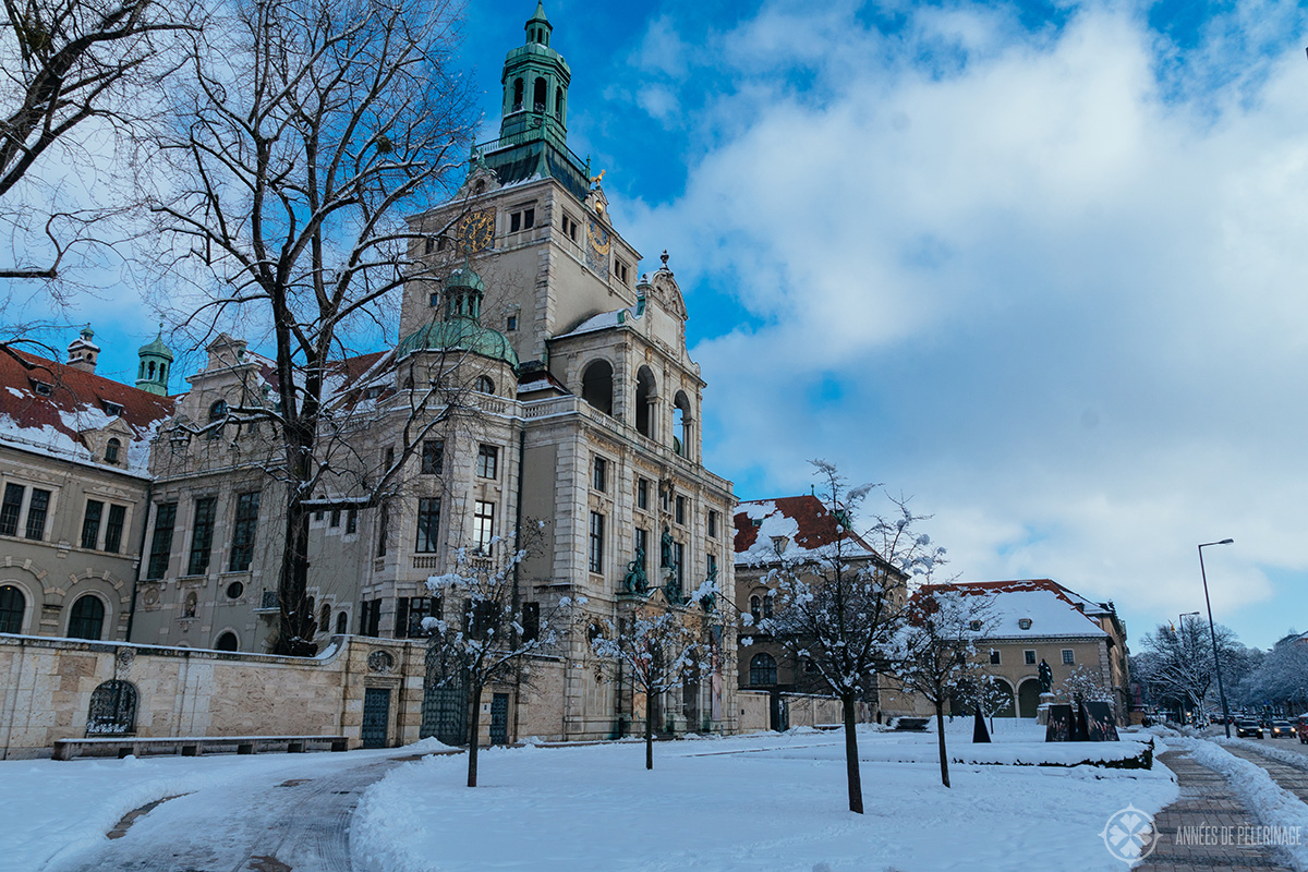 "The Bavarian National Museum ""Bayerische Nationalmuseum"" - one of the many places to visit in Munich in winter"