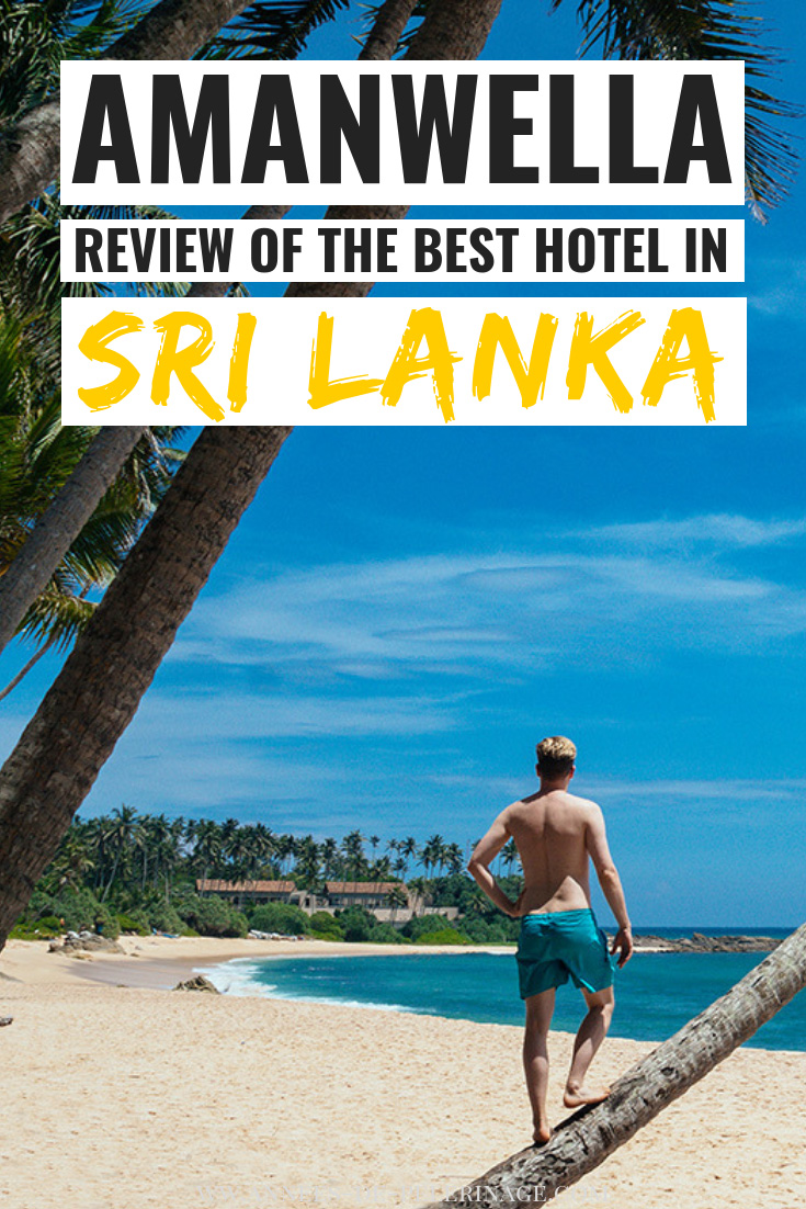 An honest and unsponsored review of the Amanwella beach resort. Is it really the best hotel in Sri Lanka? Find out what to expect, everything you need to know about the fantastic food and a thorough inspection of the restaurants. Click to read the full Amanwella review. #luxury #luxuryhotels #travel #travelguide #srilanka #asia #wanderlust #explore #bucketlist #luxuryhotels