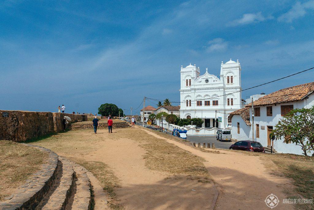 The Meeran Jumma Mosque near the Galle Lighthouse