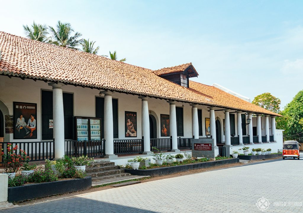 The National Museum of Galle, Sri Lanka - one of two museums in town