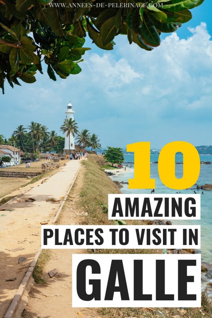 The 10 best things to do in Galle, Sri Lanka. Everything you need to know to plan your visit to the amazing UNESCO World Heritage Site Dutch Fort Galle. What to see, where to eat and where to stay - this little Galle travel guide has all the answers. Click for more. #travel #srilanka #traveltips #travelguide #explore #wanderlust #asia