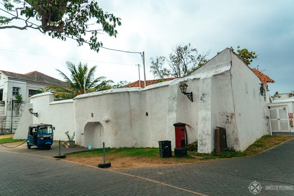 The Akersloot Bastion in Galle, Sri Lanka