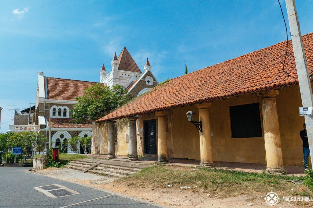 All Saints Church in Galle, Sri Lanka