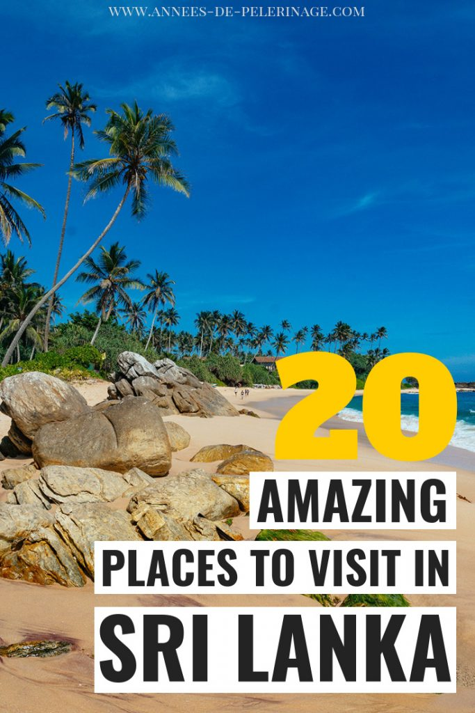 The 20 best things to do in Sri Lanka. A massive Sri Lanka travel guide with everything you need to know. All the top tourist attractions and landmarks. Yala National Park, Sigiriya, Galle Fort - this list of places to visit in Sri Lanka has it all. Click for more information. #travel #srilanka #traveltips #travelguide #travelblog #wanderlust #explore