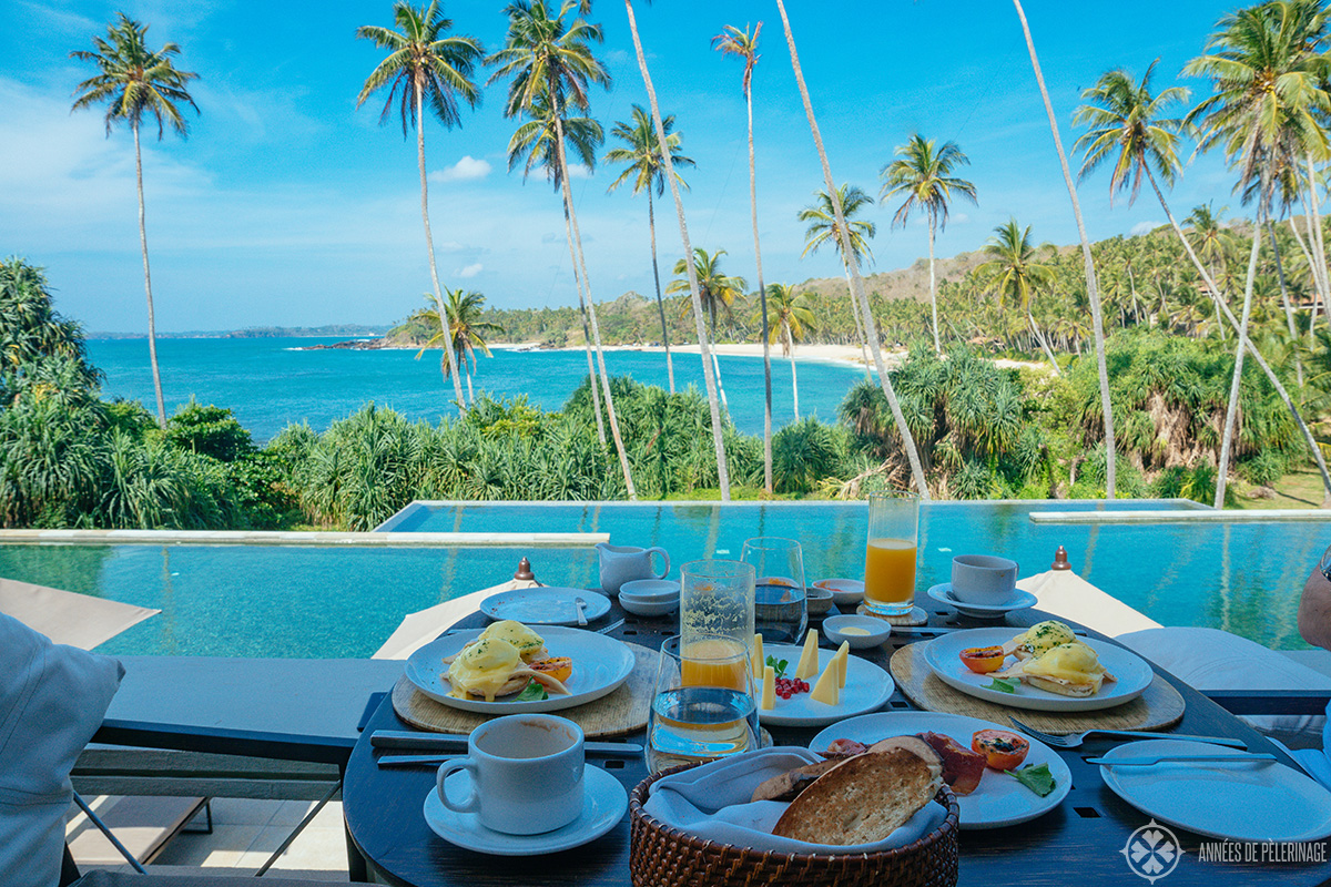 the breakfast at amanwella