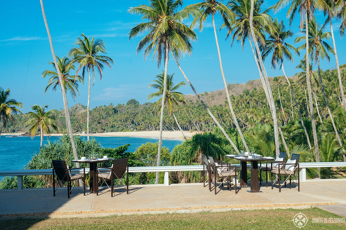 Breakfast with a view at Amanwella Sri Lanka