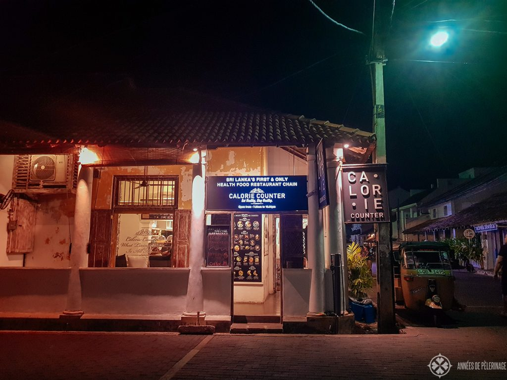 The Calorie Counter Restaurant - one of the best places to eat in Galle, Sri Lanka