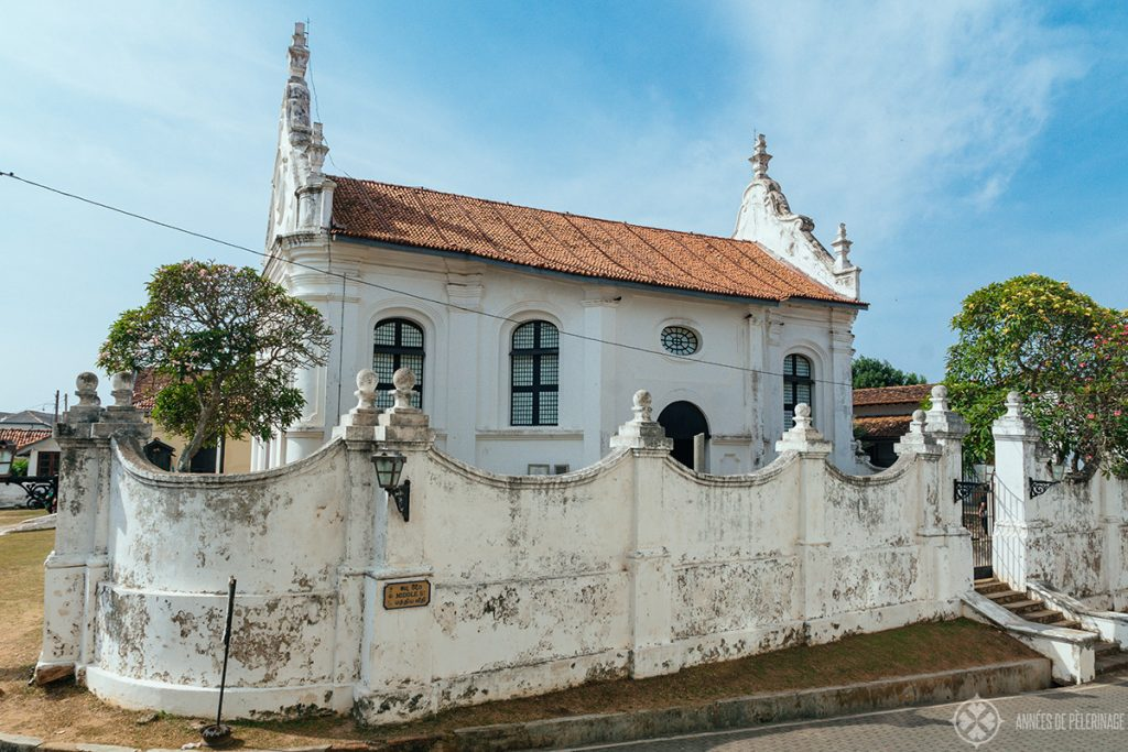 The Durch Reformed Church (Groote Kerk) - Part of the UNESCO Hertiage Site Dutch Fort and one of many things to do in Galle.