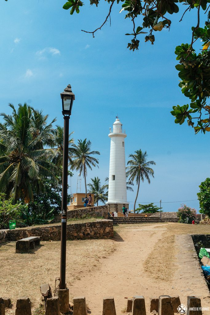 Galle Lighthouse - part of the UNESCO World Heritage Site Dutch Fort Galle