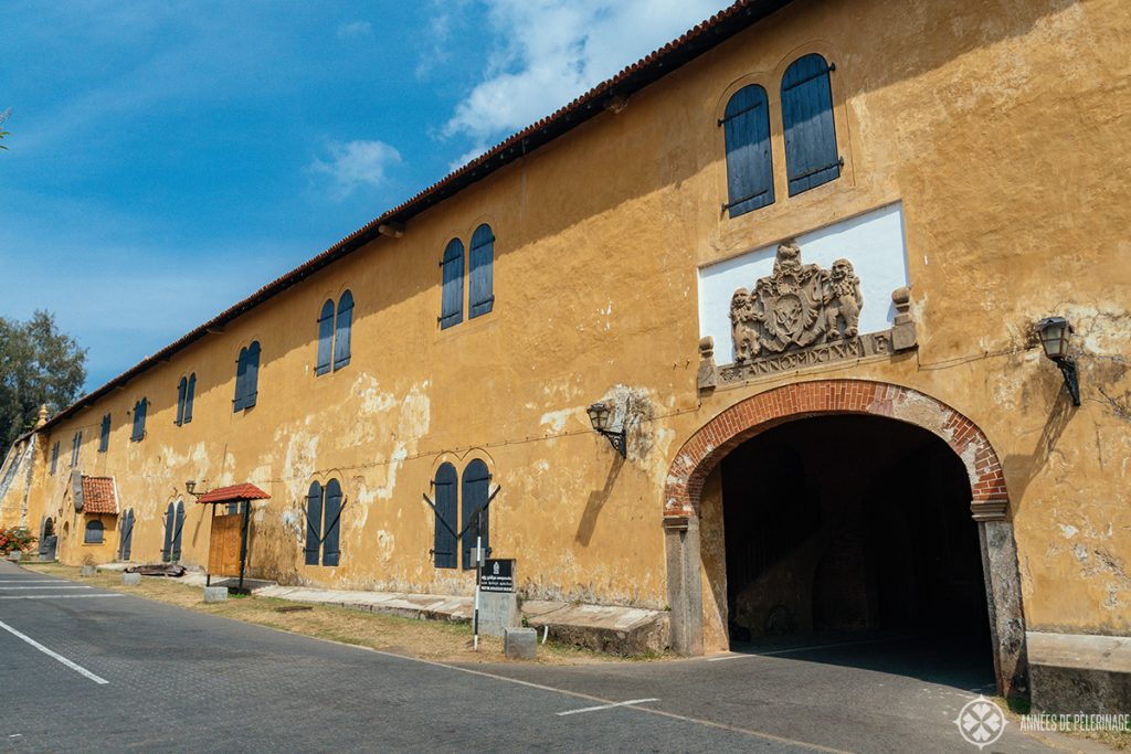 The Maritime Archaeology Museum inside the Galle Dutch Fort, Sri lanka