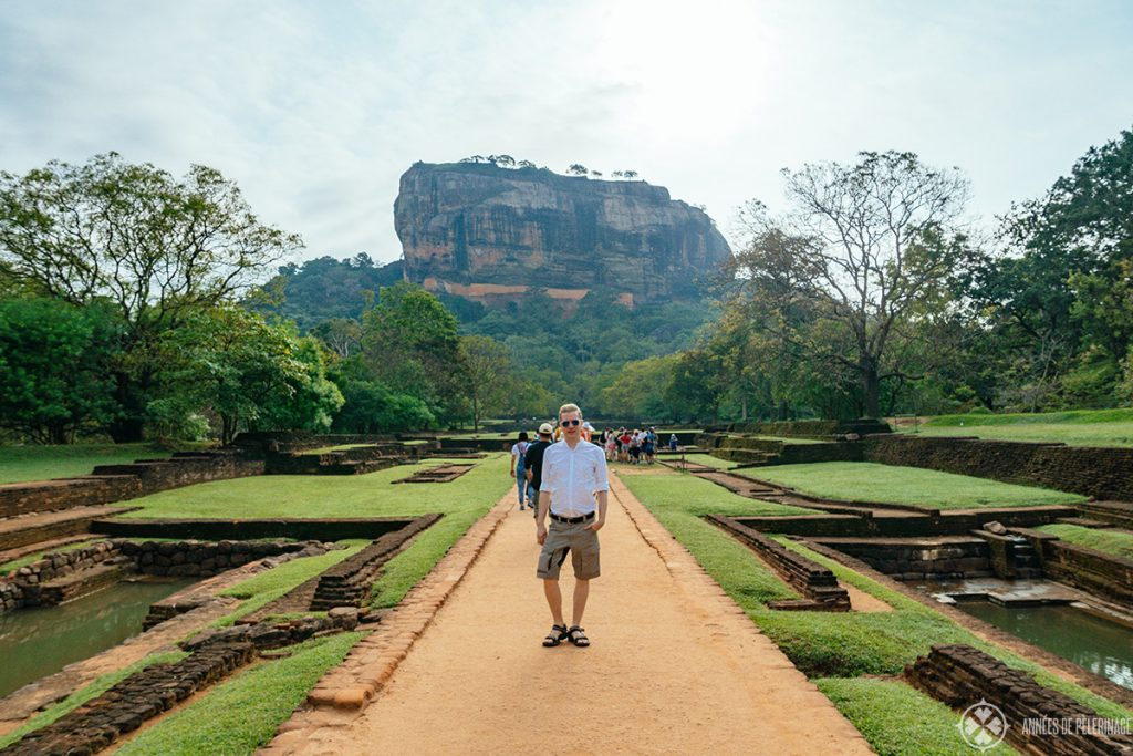 Me at Sigiriya Lion's Rock near Dambulla, Sri Lanka